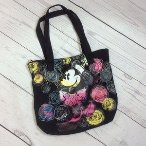 Disney Minnie Mouse Canvas Tote Bag